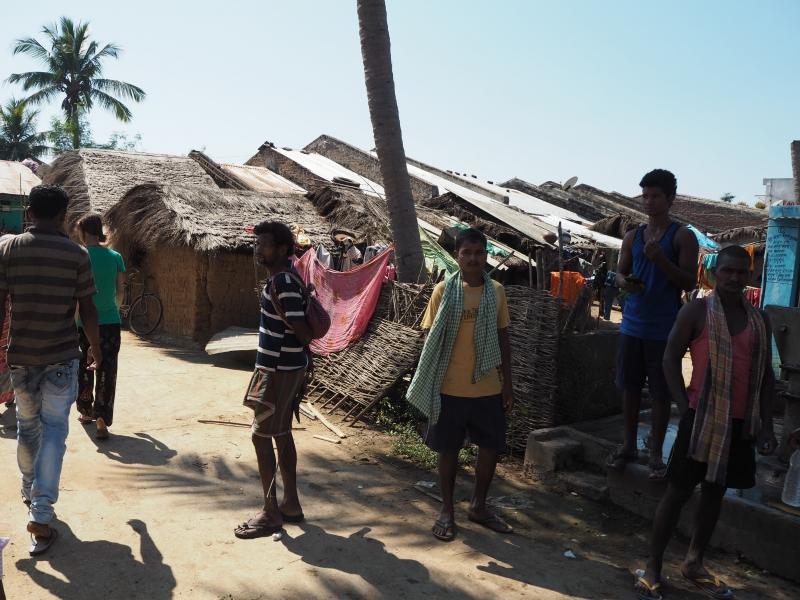В деревне Багасала