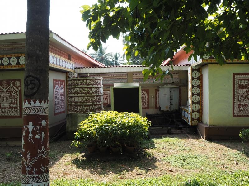 Идиттали в Музее племенных искусств и материальной культуры, г. Бхуванешвар