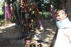В святилище богини Тангима в окрестностях Гунупура