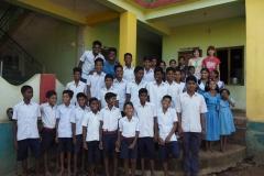 С детьми в баптистском хостеле