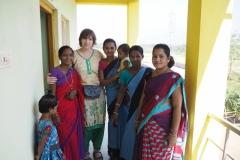 С женщинами из организации ASHA, д. Ранипета