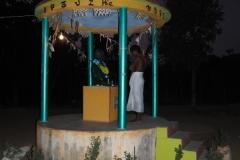 Пуджа в ашраме Мангея Гоманго