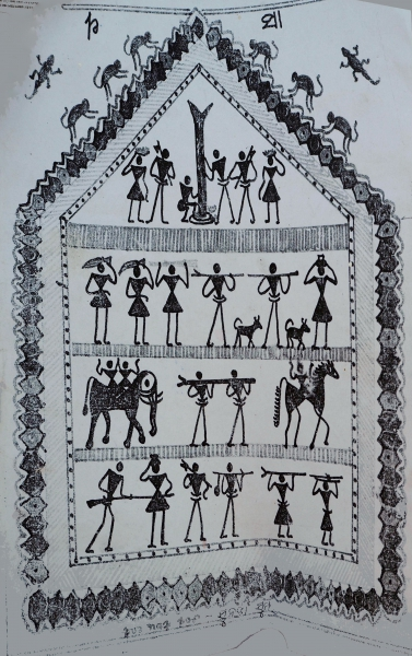 Сундангсым, божество основного несущего столба в амбаре