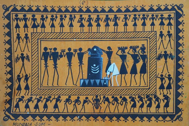 Мундара сым - божество, защищающее деревню, воплощённое в виде столбиков по четырём сторонам света вокруг деревни.