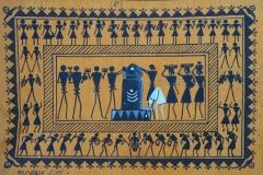 Mundara-sym, the village patron deity